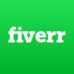 """AppStore 上的""""Fiverr-Fiverr中国 Fiverr中文 Fiverr网站官网 Fiverr中国版"""