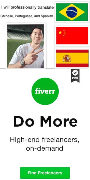 fiverr 中文 版